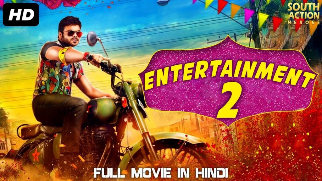 Entertainment 2 (2019) Hindi Dubbed 350MB HDRip 480p x264