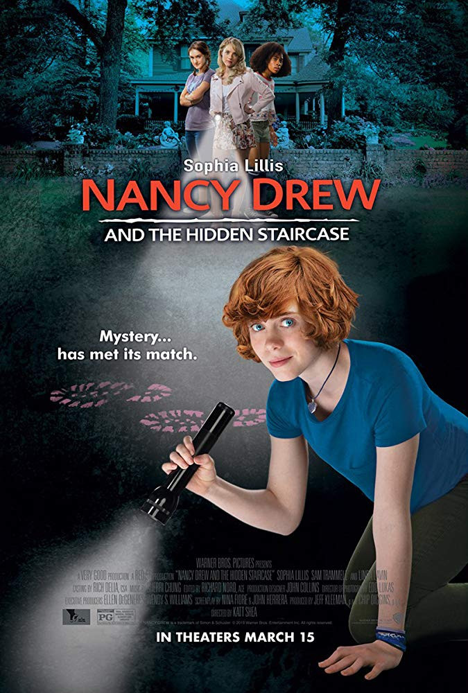 Nancy Drew and the Hidden Staircase (2019) English 250MB HDRip 480p x264