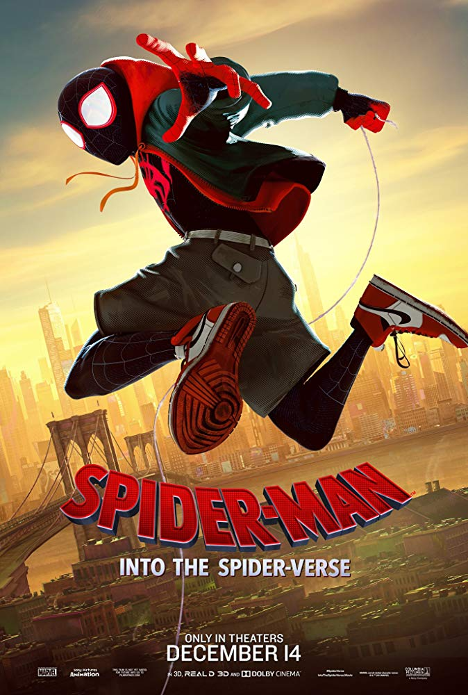 Spider-Man Into the Spider-Verse (2018) ORG Dual Audio Hindi 450MB BluRay 480p