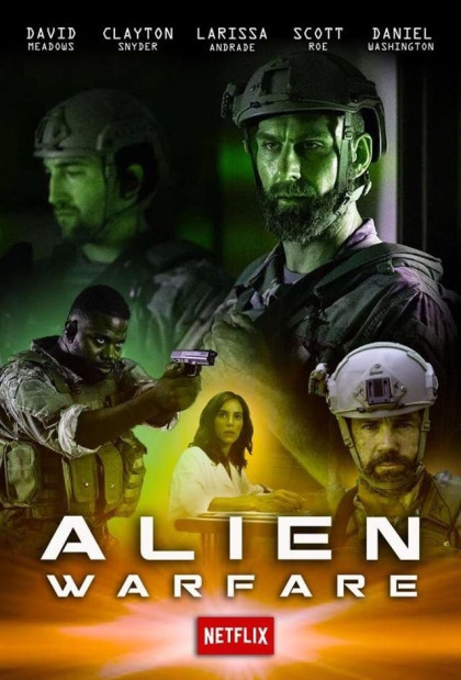 Alien Warfare (2019) English 400MB HDRip 480p x264