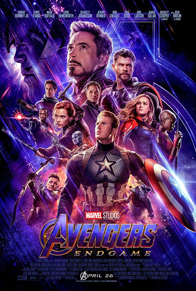 Avengers Endgame 2019 Hindi Dual Audio HDCam 800MB Download