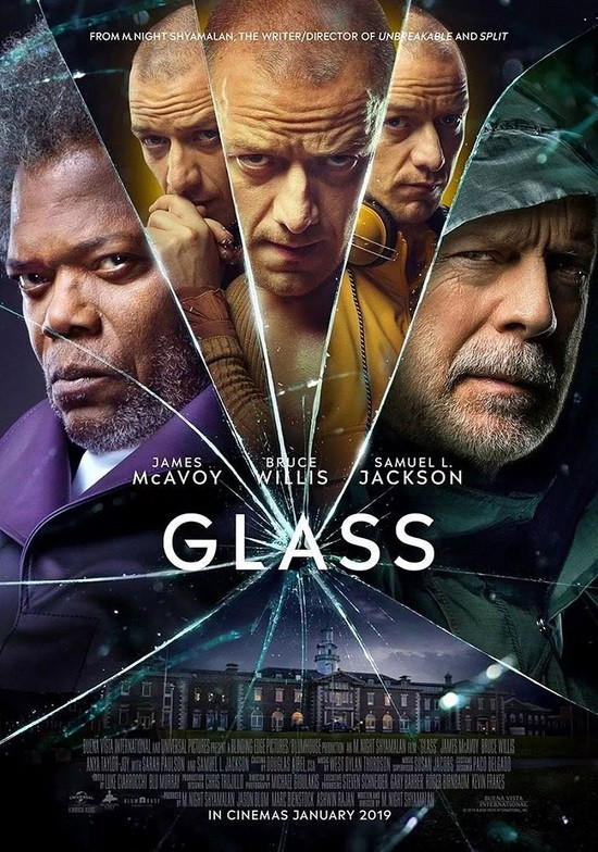 Glass (2019) English 400MB HDRip 480p x264 ESubs