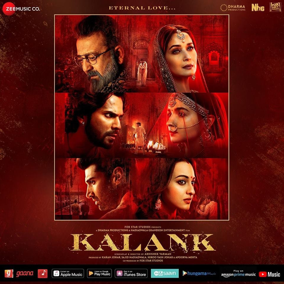 Kalank (2019) Hindi Full Movie 400MB DVDScr 480p x264