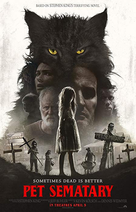 Pet Sematary (2019) English 300MB HDCAM-Rip 480p x264