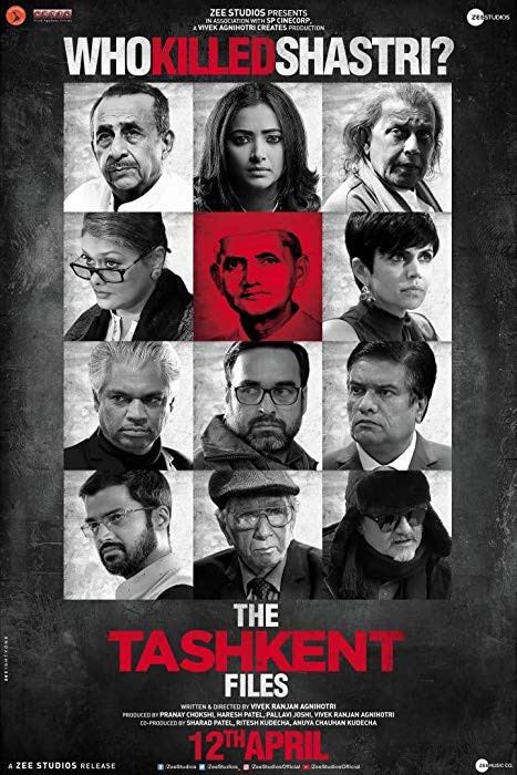 The Tashkent Files (2019) Hindi 400MB Pre-DVDRip 480p x264