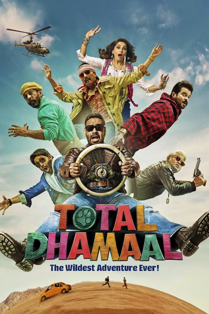 Total Dhamaal (2019) Hindi ORG 400MB HDRip 480p x264 ESubs