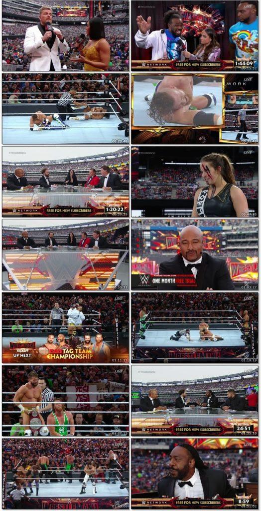 WWE Wrestle Mania 35