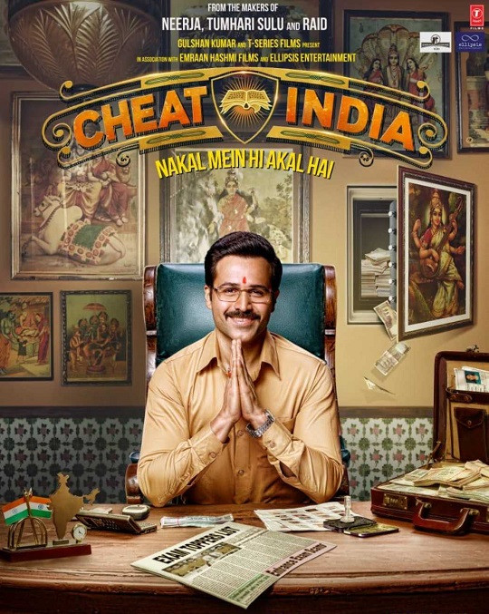 Why Cheat India (2019) Hindi 550MB HDTVRip 720p HEVC x265