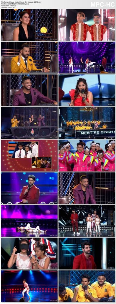 Dance India Dance 3th August 2019 200MB