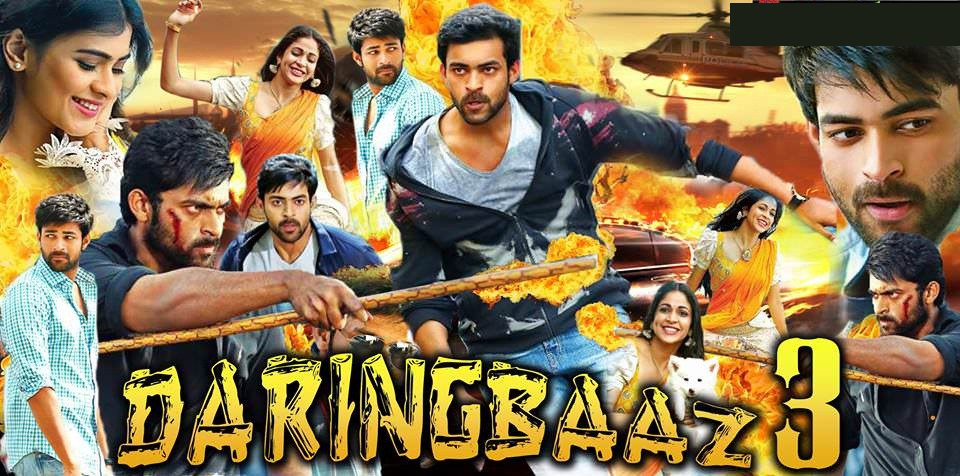 Daringbaaz 3 2019 Hindi Dubbed Movie HDRip 850MB