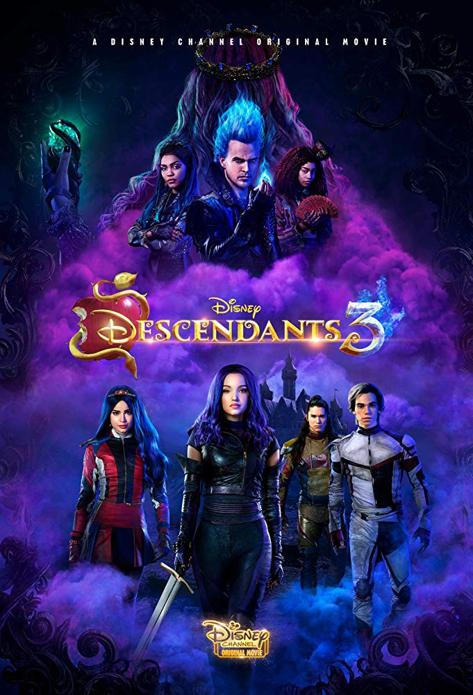 Descendants 3 2019 English 300MB HDRip 480p ESubs