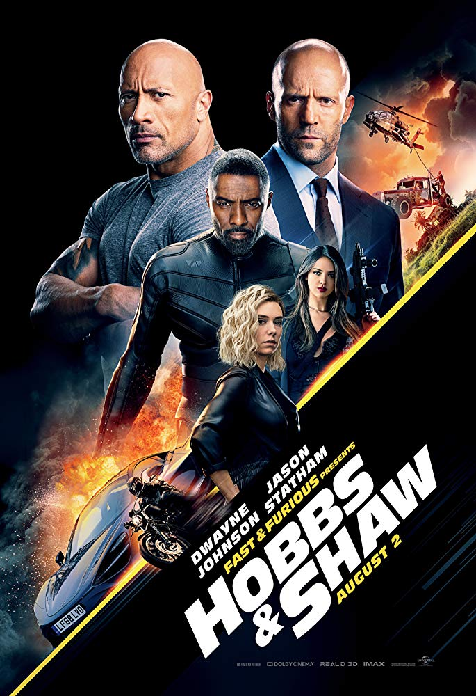 Fast & Furious Presents: Hobbs & Shaw 2019 Dual Audio 720p