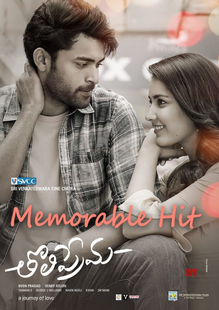 Tholi Prema 2019 Hindi Dubbed 720p HDRip 800MB ESubs