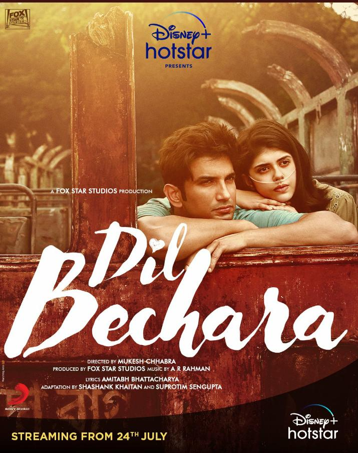 Dil Bechara 2020 Hindi Movie 720p HDRip 900MB