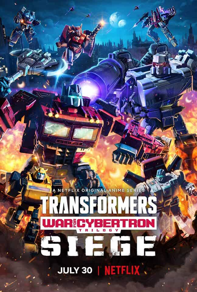 Transformers: War For Cybertron (Chapter 1) 2020 S1 Complete Dual Audio 450MB