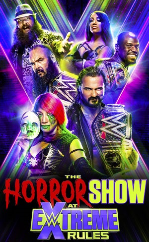 WWE Extreme Rules 2020 English The Horror Show 720p HDRip 950MB