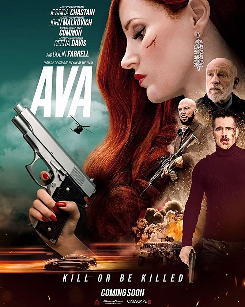 Ava 2020 English 300MB HDRip 480p ESubs Download..