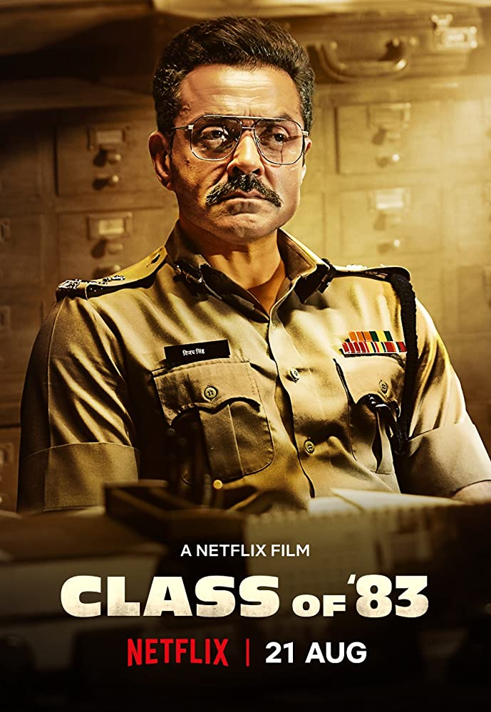 Class of 83 (2020) Full Movie [Hindi-DD5.1] 300MB HDRip 480p ESubs Download