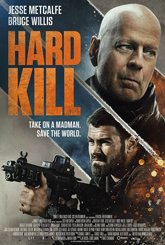 Hard Kill 2020 English 720p HDRip 800MB Download