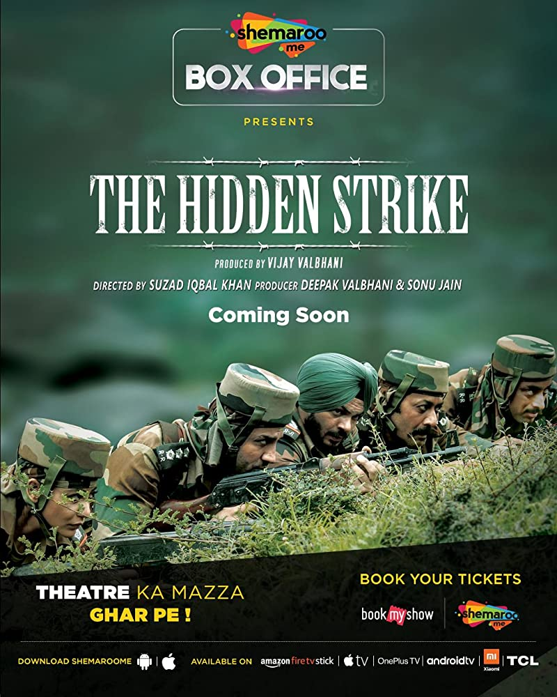 The Hidden Strike (2020) Hindi Movie 400MB HDRip 480p ESubs