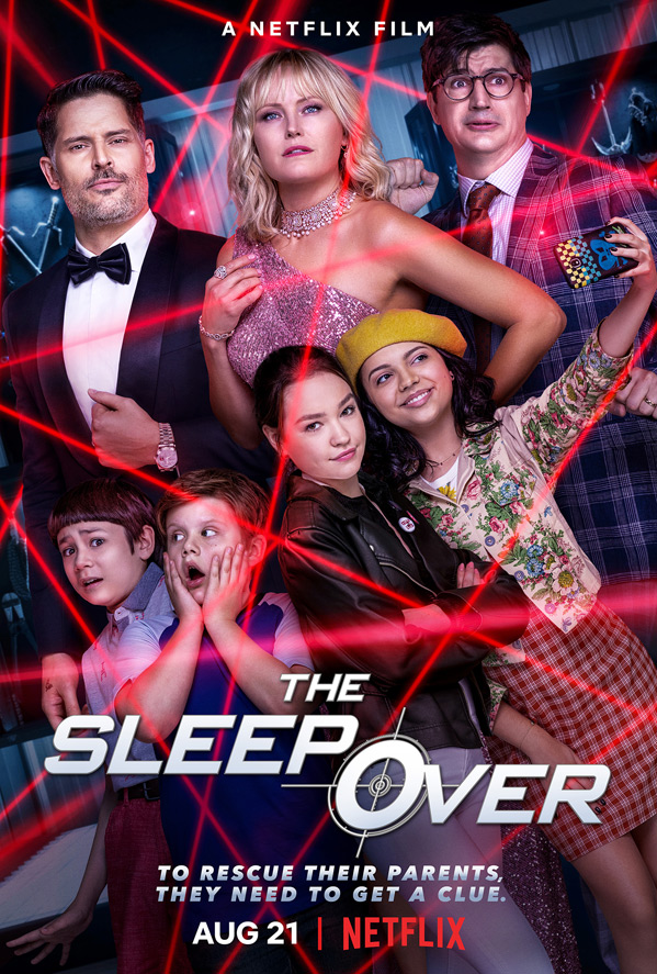 The Sleepover 2020 Dual Audio [Hindi-DD5.1] 350MB NF HDRip 480p ESubs Download