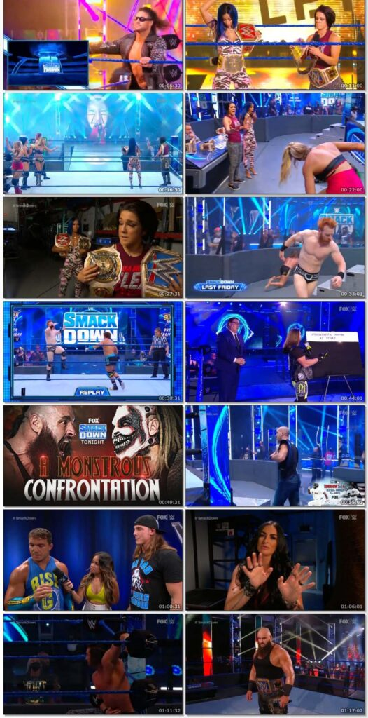 WWE Friday Night Smackdown (14 August 2020) English 720p