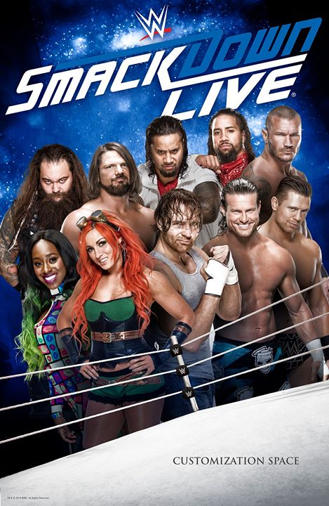 WWE Friday Night Smackdown (14 August 2020) English 720p HDRip 900MB