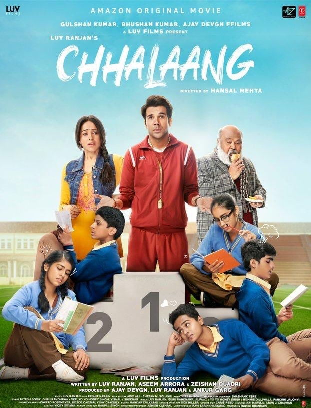 Chhalaang 2020 Hindi Movie 1080p HDRip 950MB Download