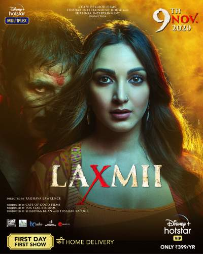 Laxmii 2020 Hindi Movie 400MB HDRip ESubs Download