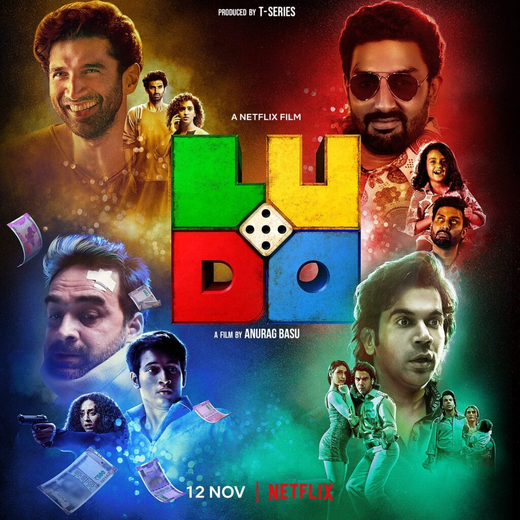 Ludo 2020 Hindi 450MB NF HDRip