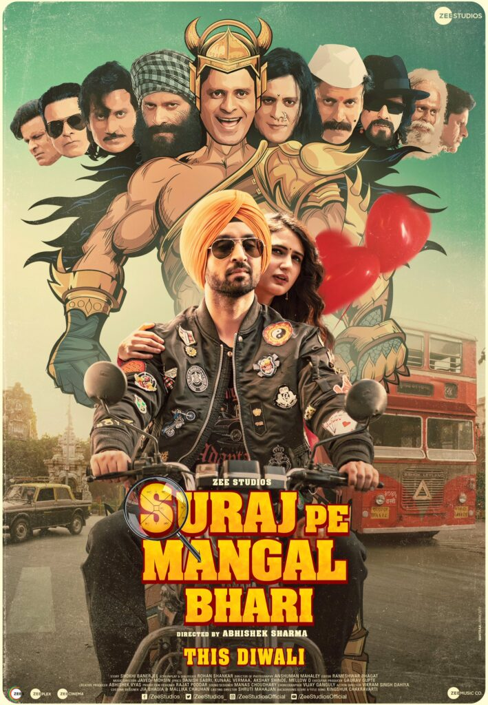 Suraj Pe Mangal Bhari 2020 Hindi 720p HDRip 950MB