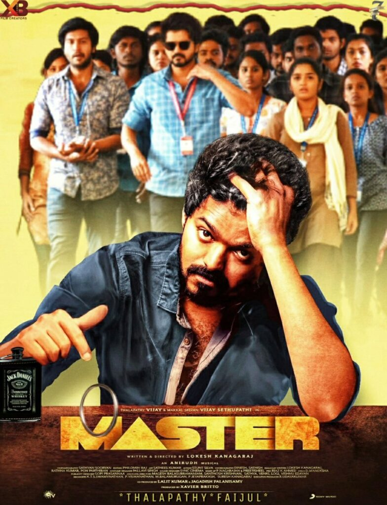 Master 2021 Hindi Dubbed 720p PreDVDRip 950MB Download