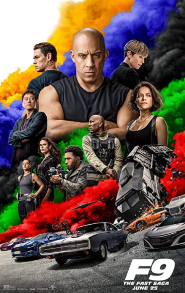 Fast & Furious 9 (2021) English 480p HDRip 950MB Download
