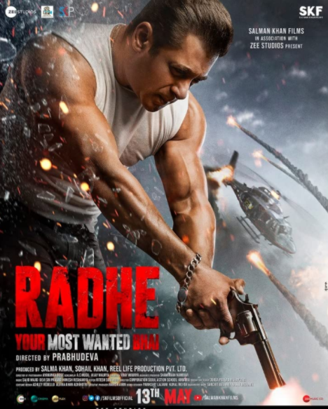 Radhe (Your Most Wanted Bhai) 2021 Hindi Movie 720p HDRip 950MB Download
