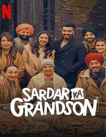 Sardar Ka Grandson 2021 Hindi 700MB NF HDRip 720p HEVC x265 Download