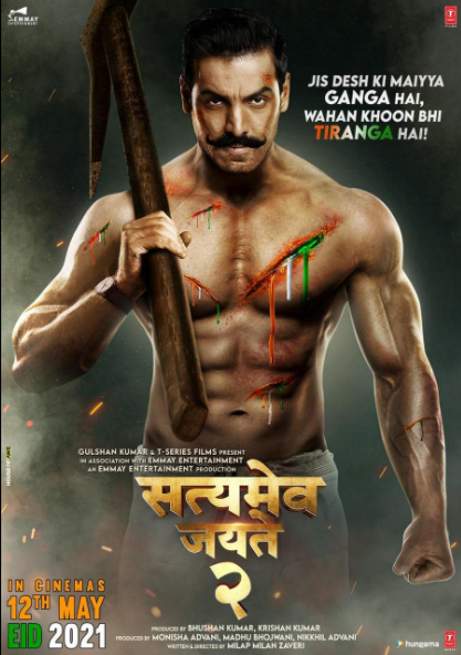 Satyameva Jayate 2 (2021) Hindi Full Movie 720p HDRip 950MB Download