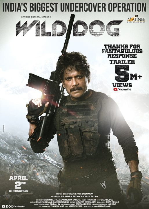 Wild Dog (2021) Hindi Dual Audio 720p HDRip x264 800MB Download