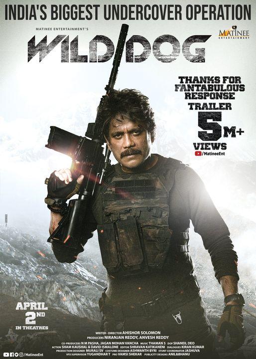 Wild Dog (2021) Hindi Dual Audio 720p HDRip x264 800MB Download